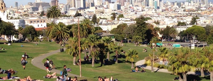 Mission Dolores Park is one of SF.