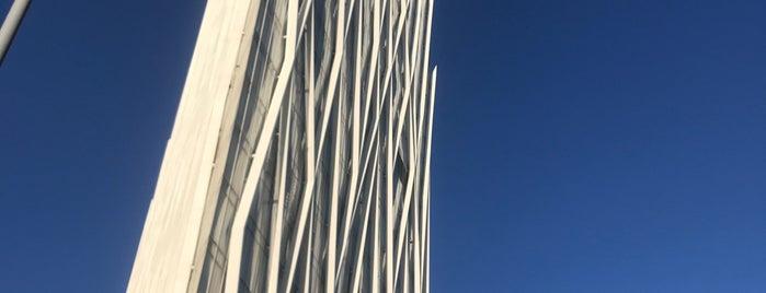 Diagonal ZeroZero (edificio Telefonica) is one of Barcelona.