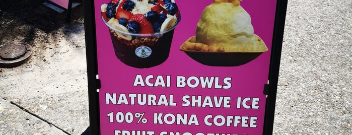 Kona Wave Cafe is one of Hawaii.