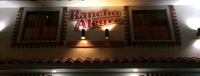 Rancho Alegre Mexican Restaurant is one of Bestchester.