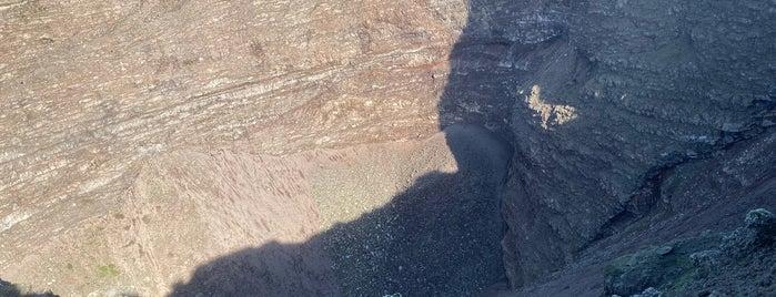 Mount Vesuvius Volcano is one of AMALFI.
