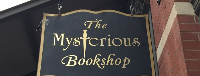The Mysterious Bookshop is one of NYC Spots.
