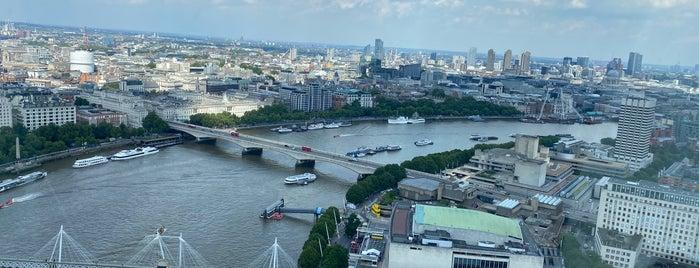 London Eye / Waterloo Pier is one of Must Visit London.