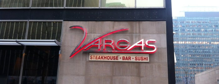 Vargas Steakhouse & Sushi is one of สถานที่ที่ JulienF ถูกใจ.
