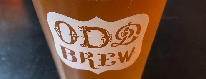 Odd Brew is one of Lieux qui ont plu à Olena.