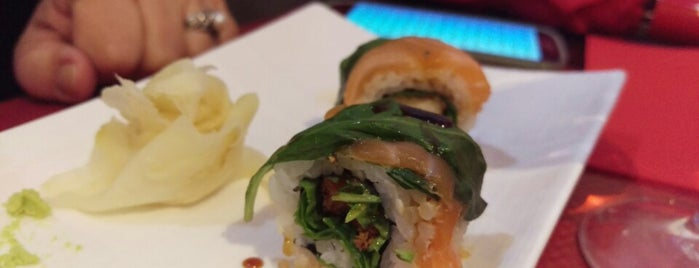 Paradis de sushi is one of gluten free.