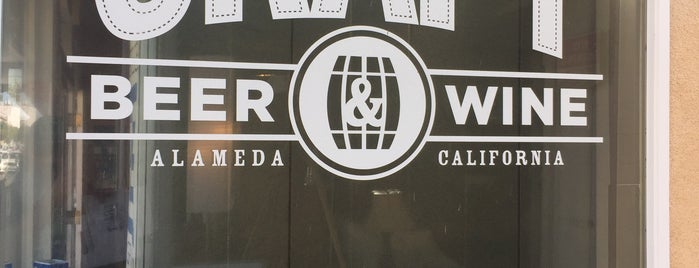 CRAFT Beer & Wine is one of Beyond the Peninsula.