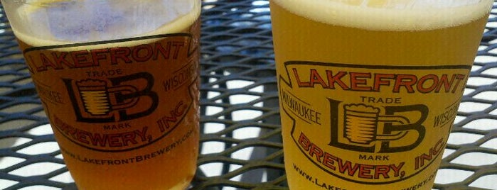 Lakefront Brewery is one of Breweries to Visit.