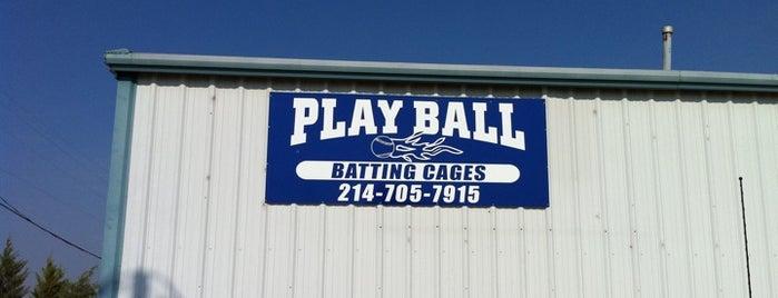 Play Ball is one of Chris'in Kaydettiği Mekanlar.