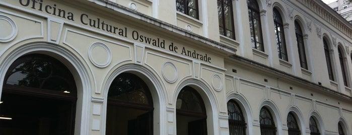 Oficina Cultural Oswald de Andrade is one of Museus e Centros Culturais.