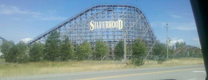 Silverwood Theme Park is one of I  2 TRAVEL!! The PACIFIC COAST✈.
