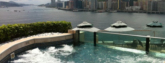 Harbour Grand Kowloon is one of Les plus beaux rooftops !.