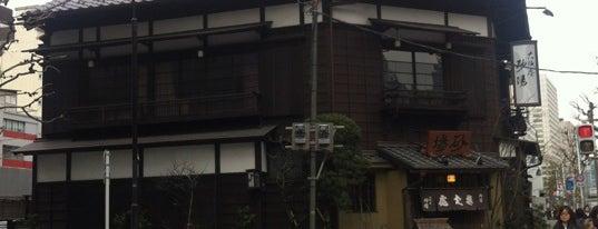 虎ノ門大坂屋砂場 is one of Locais salvos de upup.