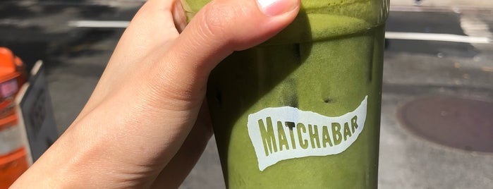 MatchaBar is one of Locais curtidos por SKW.
