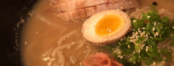 Miso Ramen is one of Orte, die Tom gefallen.