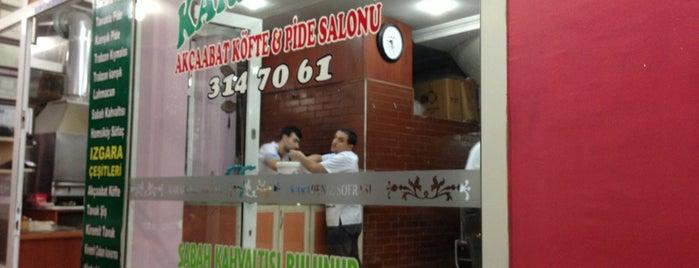 Karadeniz Akçaabat Köfte & Pide Salonu is one of Orte, die Osman Nuri gefallen.