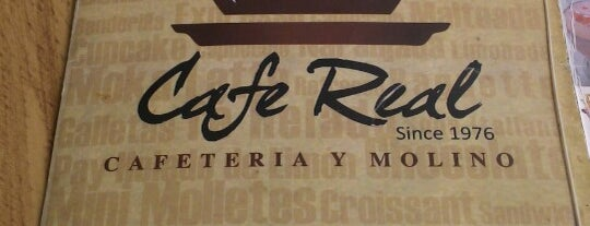 Cafe Real is one of Café / Té & Pan.