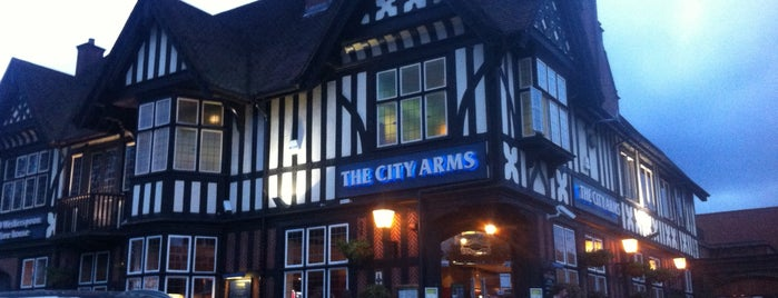 The City Arms (Wetherspoon) is one of Carl 님이 좋아한 장소.