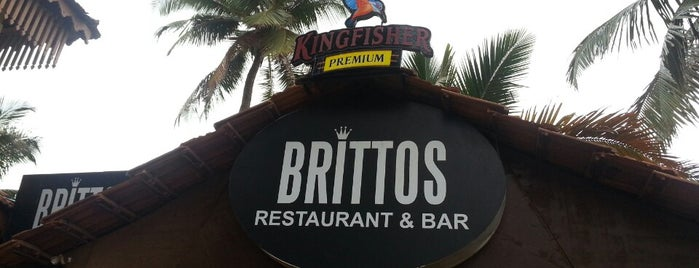Brittos Bar & Restaurant is one of north goa.