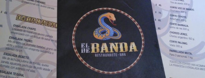 EL DE BANDA is one of Lugares.