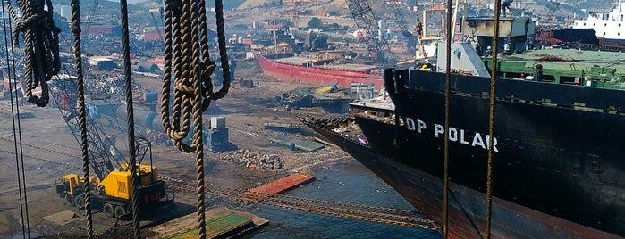 Gemi Söküm Tesisleri is one of Tahsin : понравившиеся места.