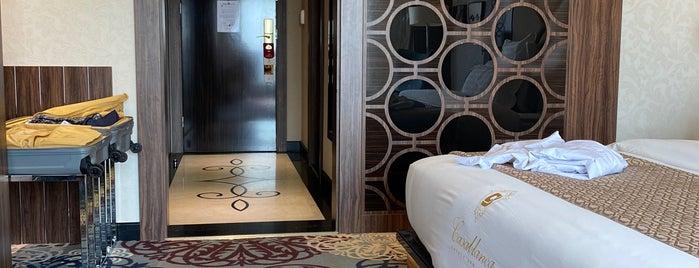 Casablanca Grand Hotel is one of Tempat yang Disukai Gigi.