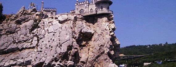 Ласточкино гнездо / Swallow's Nest is one of Tempat yang Disukai Alena.
