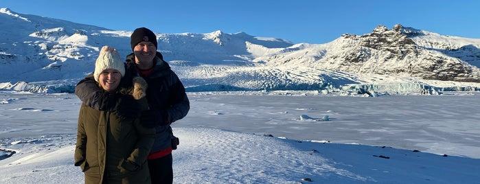 Fjallsárlón Glacier Lagoon is one of Lieux qui ont plu à Migue.