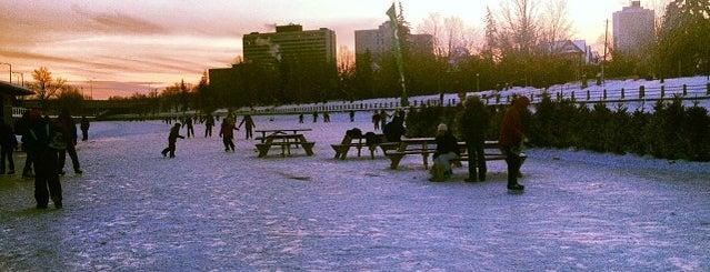 Rideau Canal Skateway is one of Gespeicherte Orte von Colo.