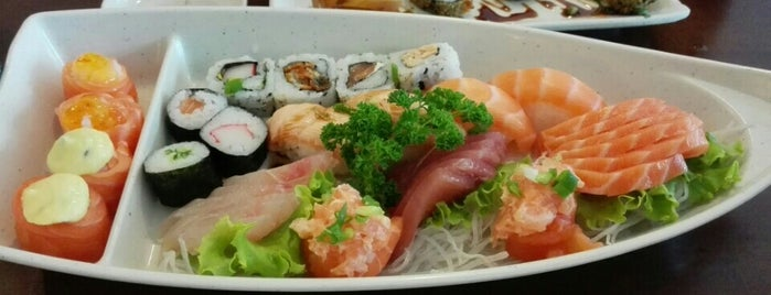 Bimi Sushi is one of Locais curtidos por Arthur.