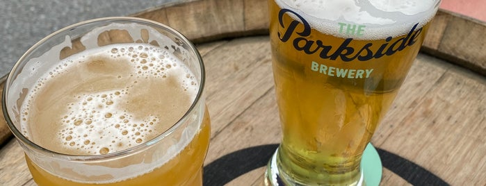 The Parkside Brewery is one of สถานที่ที่ Michelle ถูกใจ.