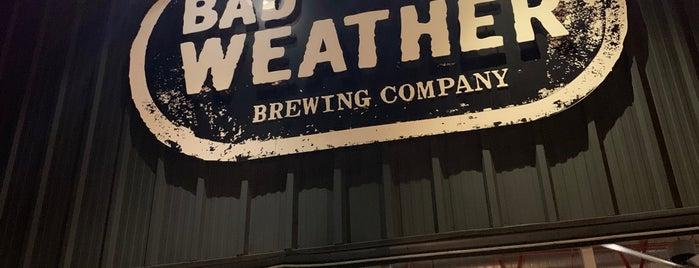 Bad Weather Brewing Company is one of Posti salvati di Rachel.