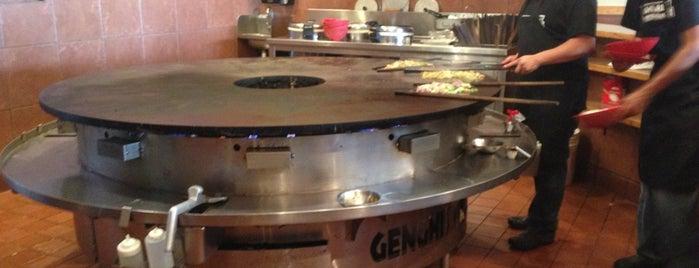 Genghis Grill is one of Orte, die Andrea gefallen.