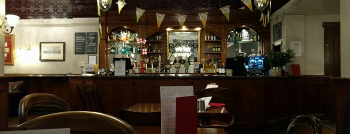 Williamson's Tavern is one of Cask Marque Pubs 02.