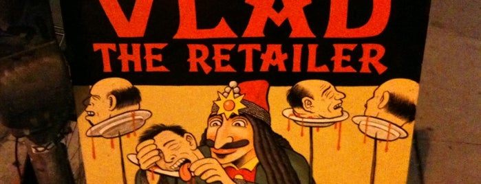 Vlad The Retailer is one of Things to Do.