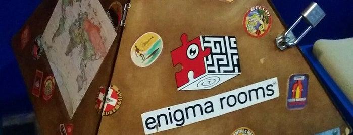 Enigma Room is one of Orte, die Poncho gefallen.