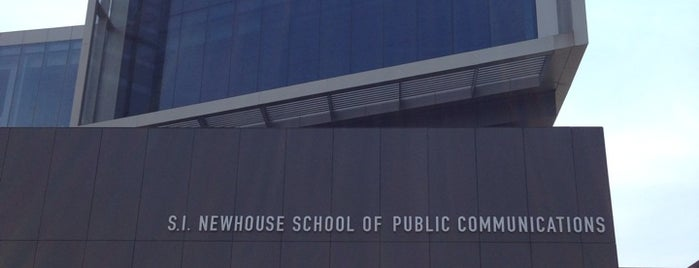 S.I. Newhouse School of Public Communications is one of Campus Tour.