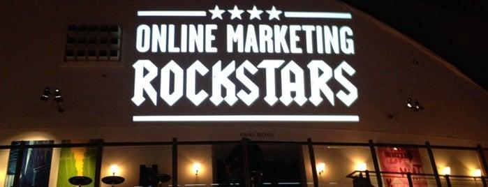 Online Marketing Rockstars 14 is one of Orte, die Ralk gefallen.