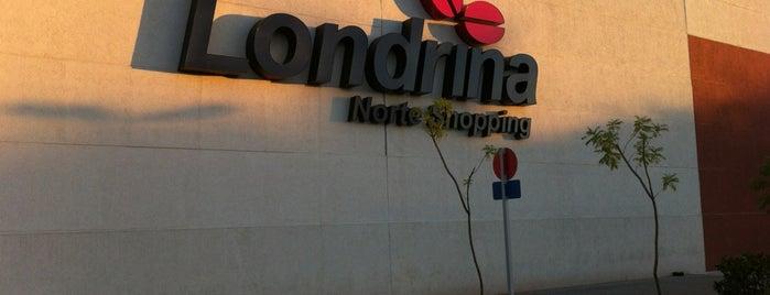 Londrina Norte Shopping is one of Locais curtidos por Cezar.