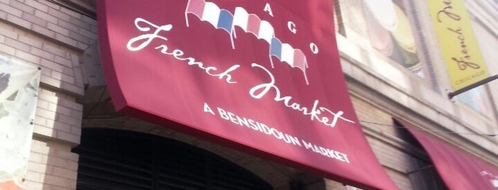 Chicago French Market is one of 시카고.