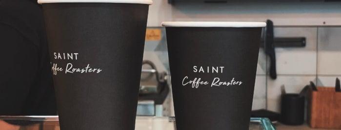 Saint Espressō is one of LDN - Brunch/coffee/ breakfast.
