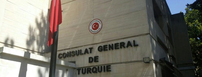 Consulat Géneral de la République de Turquie is one of Özge : понравившиеся места.