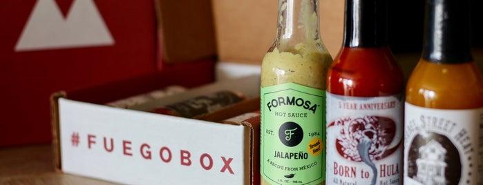 Fuego Box Hot Sauce Store is one of Lieux qui ont plu à Fabio.