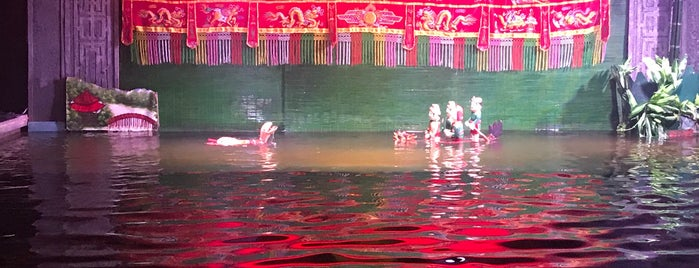 Water Puppet Theater is one of 🚁 Vietnam 🗺.