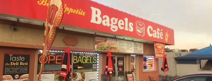 Bon Appetite Bagels is one of Locais salvos de Lizzie.