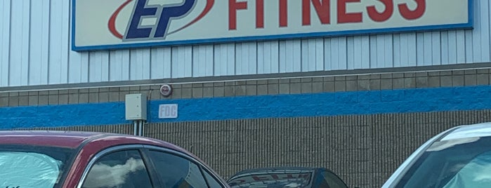 EP Fitness is one of Alexander's Liked Places.