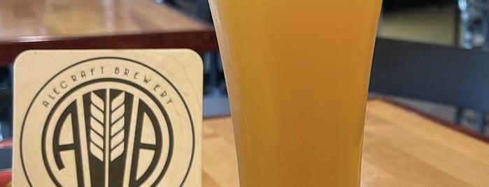 Alecraft Brewery is one of Posti salvati di Rachel.