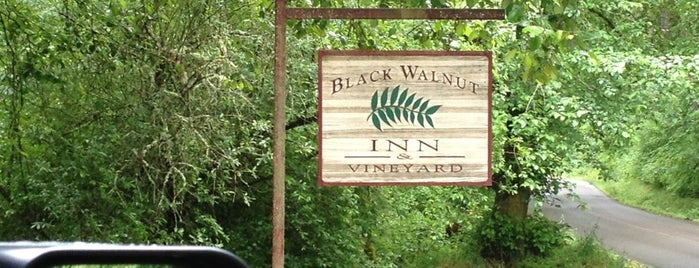 Black Walnut Inn & Vineyard is one of Wineries in Willamette Valley.