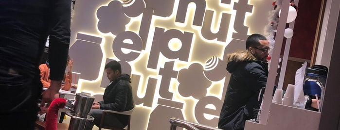Nutella Cafe is one of Lieux qui ont plu à Vicente.