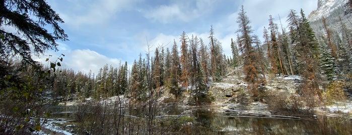 Horseshoe Lake is one of Viagem Canadá.